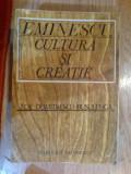 e0b Eminescu cultura si creatie - Zoe Dumitrescu Busulenga