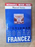 DICTIONAR ROMAN-FRANCEZ de MARCEL SARAS
