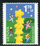 LITUANIA 2000 EUROPA CEPT, Nestampilat
