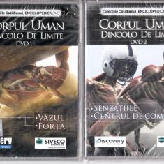 Corpul uman - Dincolo de limite 1 - 2, DVD, Romana, discovery channel