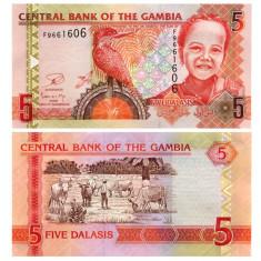 Gambia 2013 - 5 dalasis UNC
