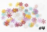 Decorațiuni pentru unghii - fulgi de zăpadă