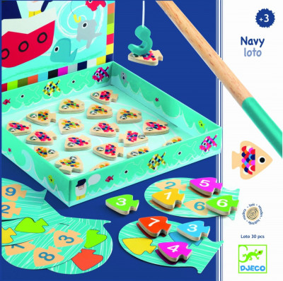 Joc educativ Navy loto Djeco foto