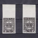 1932- Taxa de plata - nedantelata - MNH