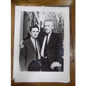 Eugen Jebeleanu si Vasile Blendea fotografie originala