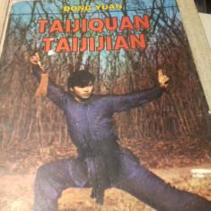 TAIJIQUAN -TAIJIJIAN - DONG YUAN ED GARELL  1994 120 PAG , NUMEROASE DESENE