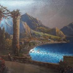 Tablou 3D peisaj mediteranean