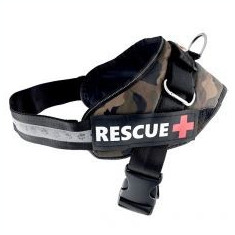 Ham pentru câini Rescue L 65 - 80 cm, camuflaj