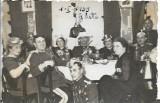 C271 Fotografie ofiteri romani cavalerie Targoviste revelion 1939