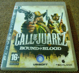 Call of Juarez Bound in blood, Ps3, original, alte sute de titluri