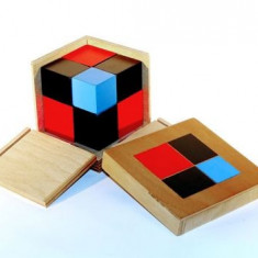 Cubul binomului, Montessori