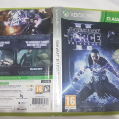 [360] Star Wars - The Force Unleashed 2 - joc original Xbox360