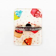 Suport tip inel pentru telefon mobil cupcakes