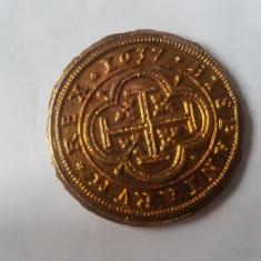 Moneda hispania anul 1637