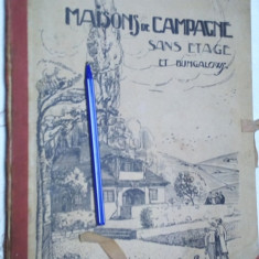 carte veche  foarte rara 1926 arhitectura de colectie