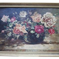 Constantin Isachie Popescu(1888-1967) - Vas cu trandafiri
