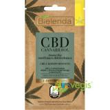 CBD CANNABIDIOL Masca de Fata Hidratanta si Detoxifianta cu Canabidiol CBD pentru Ten Mixt si Gras 8g