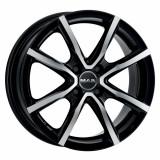 Cumpara ieftin Jante PEUGEOT 207 7J x 17 Inch 4X108 et25 - Mak Milano 4 Black Mirror - pret / buc