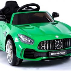 Masinuta electrica, Mercedes-AMG GT R 2018, verde metalizat