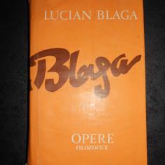 LUCIAN BLAGA - OPERE FILOZOFICE volumul 11 (TRILOGIA COSMOLOGICĂ)