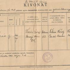 Extras registru botez Oradea 1942 al doilea razboi mondial romano-catolic