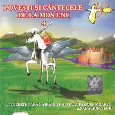 CD Irina Popa / Liviu Timuș – Povești Și Cântecele De La Moș Ene 4 , originala
