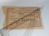Cumpara ieftin BILET TAXA PIATA 3 LEI CONSILIUL POPULAR AL MUNIC BUC
