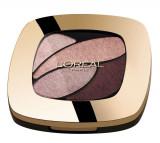 Cumpara ieftin Paleta farduri L Oreal Paris Color Riche Les Ombres, E6 Eau de Rose