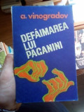 Defaimarea lui Paganini – A. Vinogradov