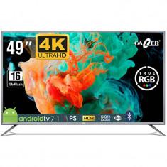 Televizor GAZER LED Smart TV49-US2G 124cm Ultra HD 4K Black