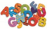 Cumpara ieftin 38 Litere magnetice colorate pentru copii