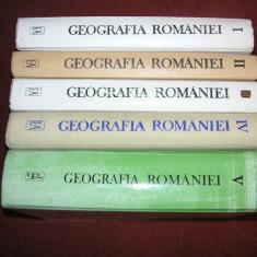 Geografia Romaniei - Tratat (vol.1,2,3,4,5))