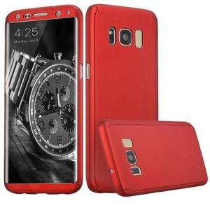Husa Full Cover 360° (fata + spate) pentru Samsung Galaxy S8 Plus, rosu