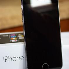 IPhone 5s, impecabil, Neverloked, Gri, Smartphone, 16GB, Apple