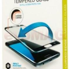 Folie protectie Sticla Lemontti LFST3DG935BK pentru Samsung Galaxy S7 Edge (Alb)