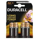 Baterie Duracell Basic AA LR06 4buc Negru