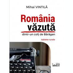 carte pdf  România văzută dintr-un colț de Bărăgan - Mihai Vintilă   Ebook