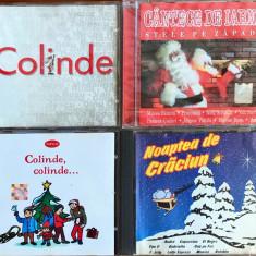 Compilatii Craciun (Alifantis, Baniciu, Sterian, Andre, Capuccino) (set 4 CD)