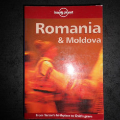 NICOLA WILLIAMS - ROMANIA & MOLDOVA. LONELY PLANET. GHID DE CALATORIE IN ENGLEZA