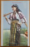 Costum popular din Bucovina , interbelica, Necirculata, Printata