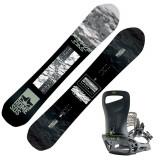 Cumpara ieftin Placa Snowboard Rome Warden cu legaturi Slice black 2020