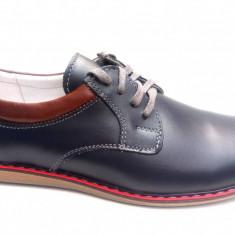 Pantofi casual - sport barbati din piele naturala PH339MBL