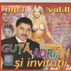 CD Guță, Adrian Și Invitații Săi, original, manele