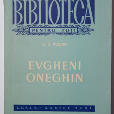 A. S. Pușkin - Evgheni Oneghin (trad. George Lesnea; 1959)