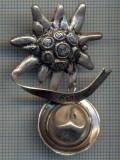 AX 185 INSIGNA-TURISM MONTAN -VANATOARE- FLOARE DE COLT SI PALARIE DE PADURAR