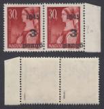 ROMANIA 1945 ARDEALUL DE NORD ORADEA I 3P/30F  PERECHE  MNH AUTENTIFICARE BODOR