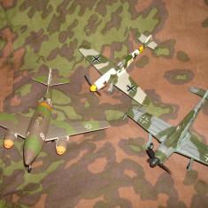 Lot 3 machete aviatia militara germana/Macheta avion german/3 Reich/Luftwaffe