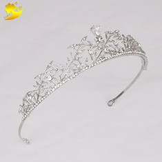 Diadema / tiara mireasa cu cristale tip Swarovski