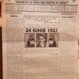 CAMASA DE IZBANDA ZIAR LEGIONAR ANUL I NR 3 9 IULIE 1998 CATALIN CODREANU 8 PAG