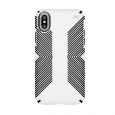 Husa carcasa iPhone X si Xs alb/negru